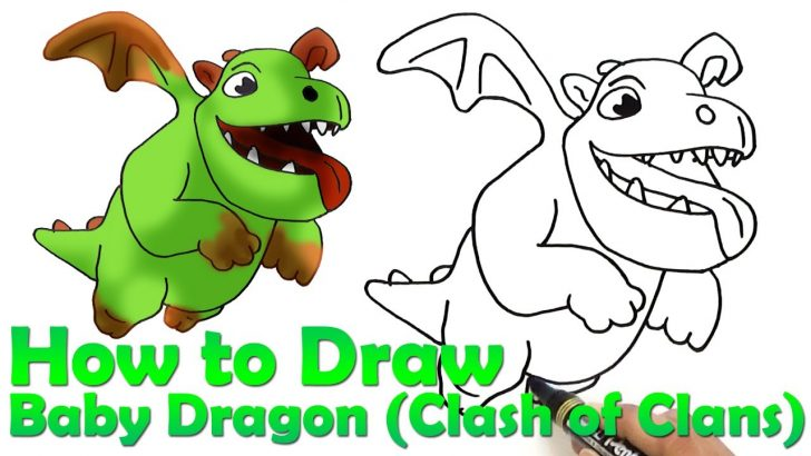 Dragon Drawing Easy Step By Step