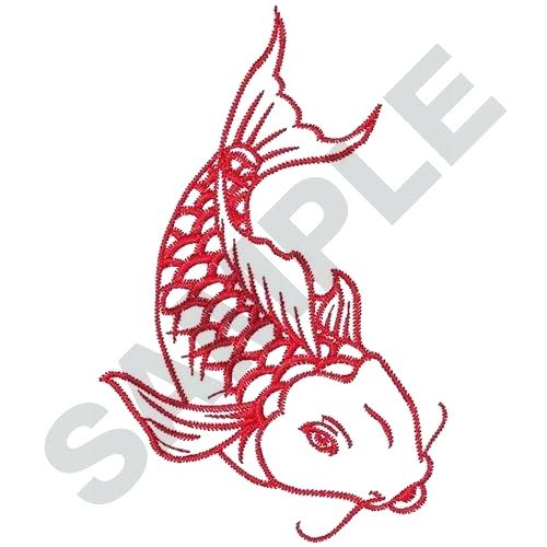 500x500 simple fish outline simple fish outline dragon koi fish drawing