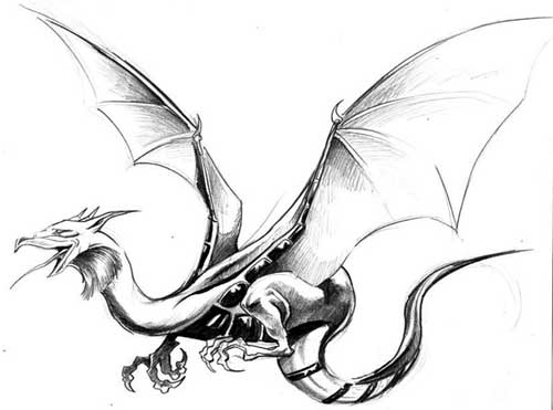 Dragon Ink Drawing Free Download Best Dragon Ink Drawing