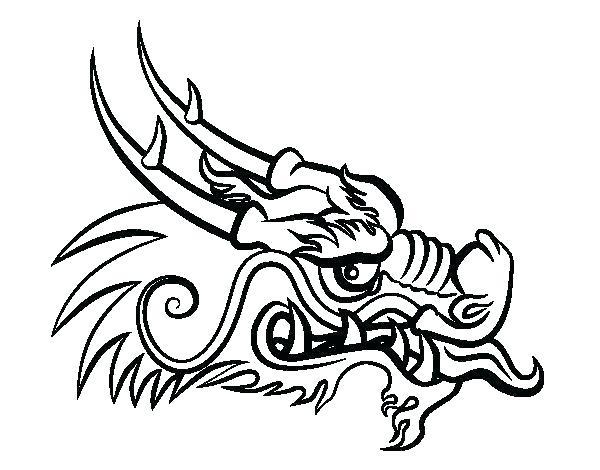 600x470 Dragon Head Drawing Dragon Head Drawing Marvelous Dragon Drawing