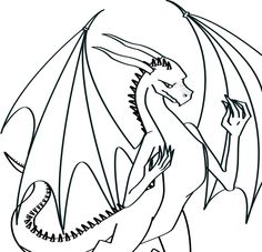 236x227 Image Result For Dragon Line Drawing Dragons Dragon Line