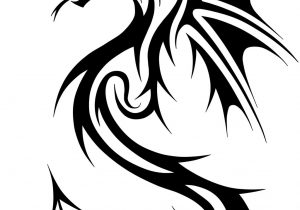 300x210 Simple Dragon Line Drawing Sketches Of Dragons How To Draw