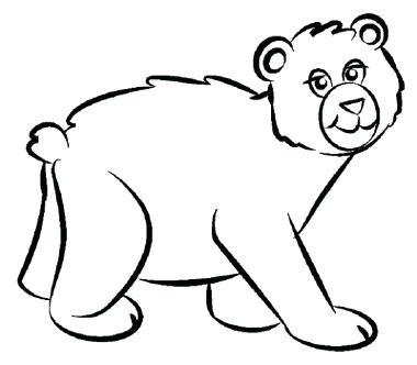 380x332 How To Draw Abear