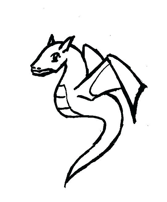 542x654 dragon outline dragon drawing simple dragon outline water dragon