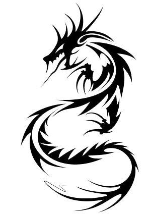 300x424 Dragon Tattoos