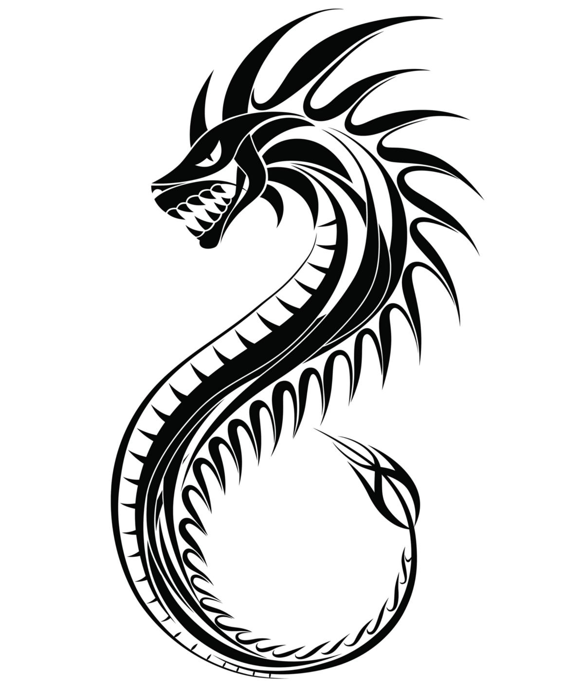 1200x1399 Dragon Tattoos For Women