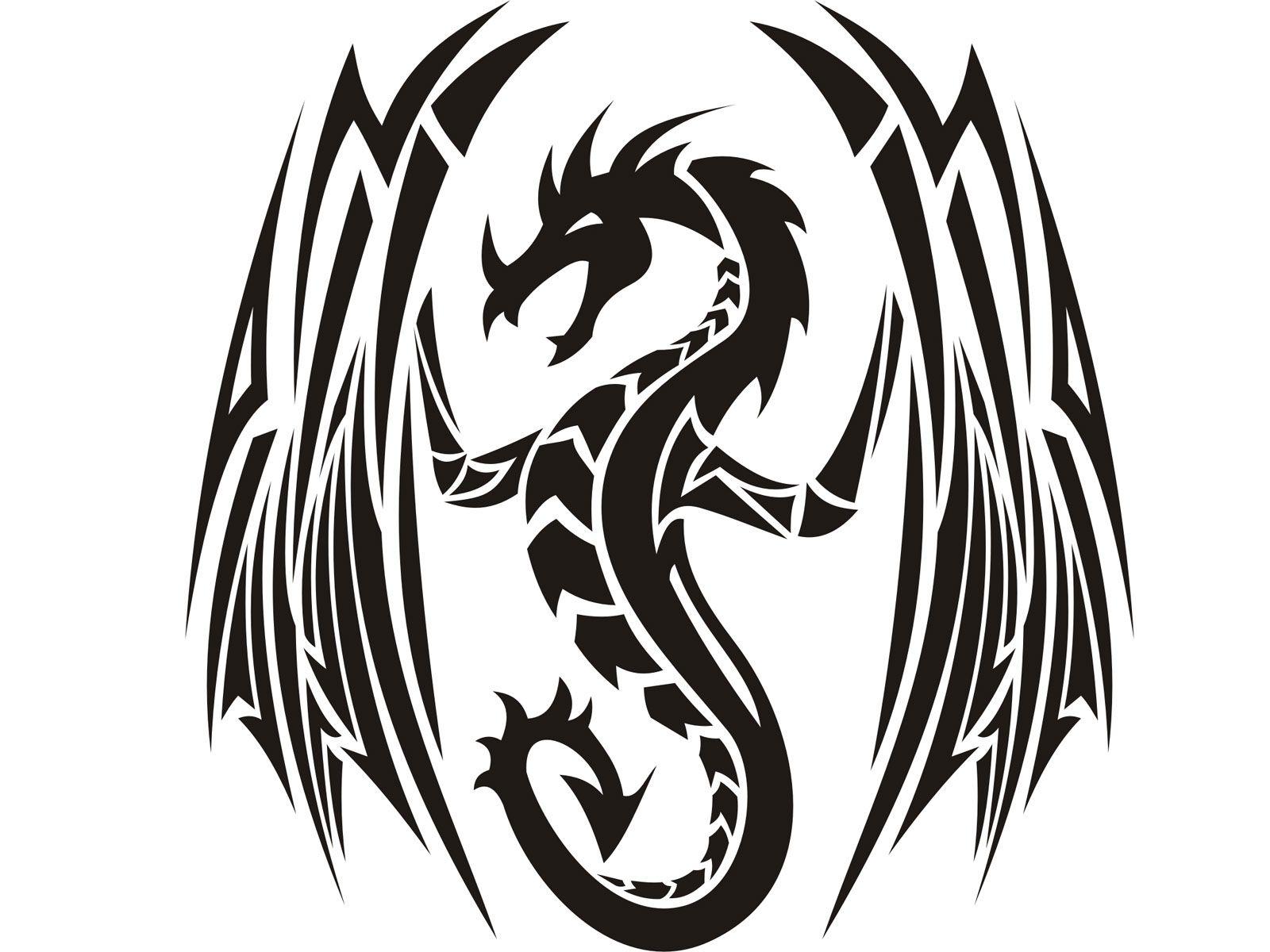 1600x1200 Tattoos Awesome Tribal Dragon Tattoo Designs Red Dragons