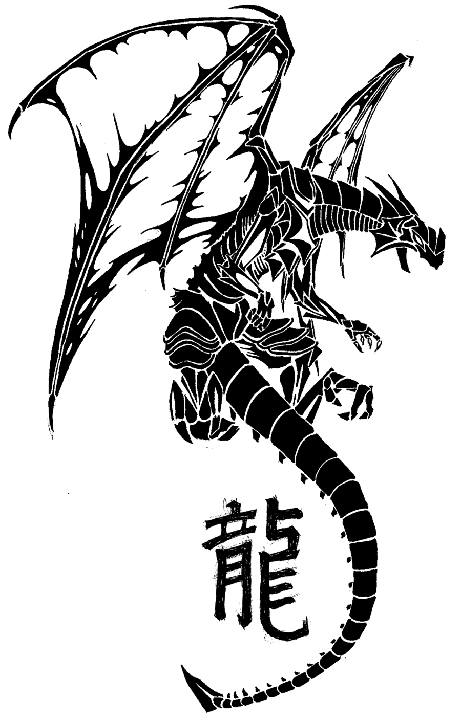 900x1415 Awesome Dragon Tattoo Designs For Men