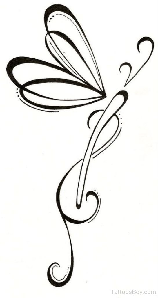 Dragonfly Outline Drawing | Free download best Dragonfly