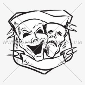 300x300 drama masks png, transparent drama masks png image free download