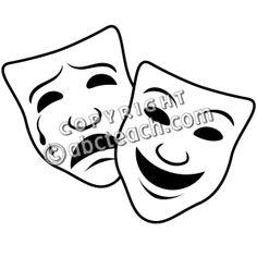 236x236 best tragedy mask images drama masks, comedy tragedy masks