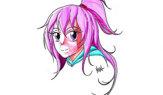 571x333 Manga Drawing