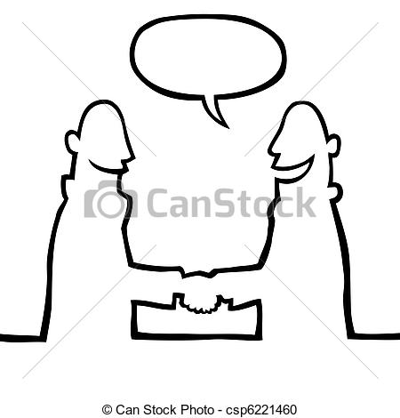 450x470 Two People Shaking Hands Drawing Clip Art
