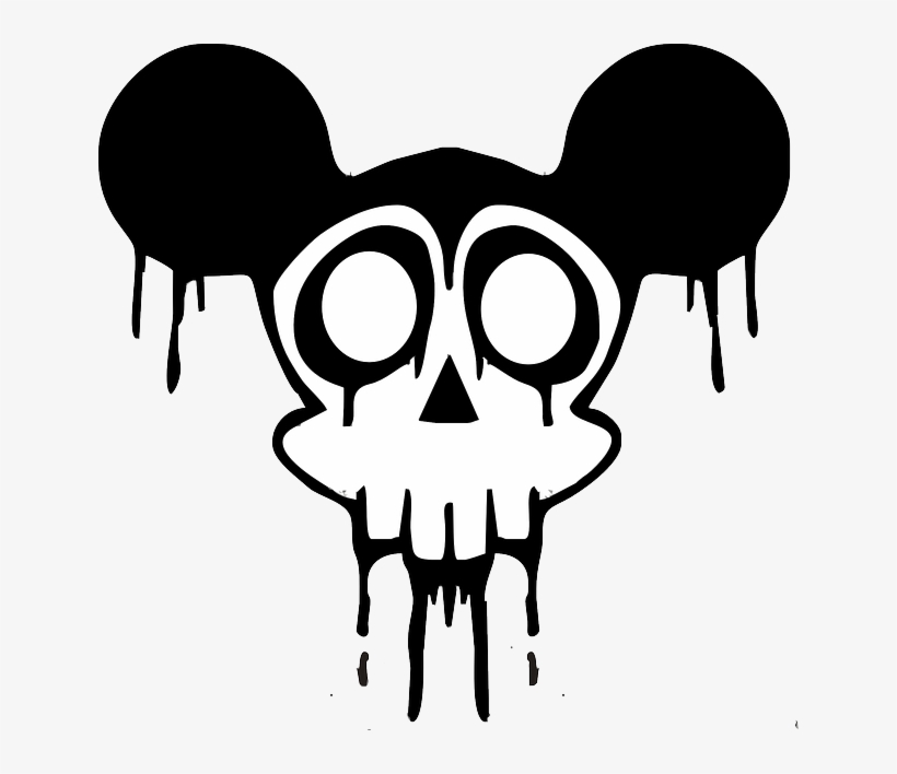 820x708 Black, Drawing, Silhouette, Skull, White, Cartoon