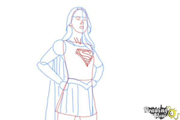 600x400 How To Draw Supergirl