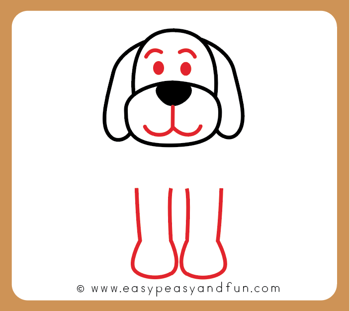 704x626 How To Draw A Dog