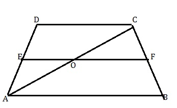 347x213 Abcd Is A Trapezium In Which Ab Is Parallel To Dce Is The Mid