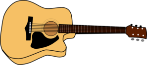 297x132 Acoustic Guitar Picture Clip Art