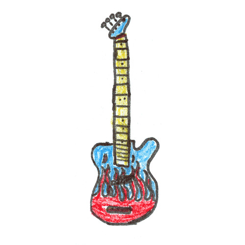500x500 Bass Guitar