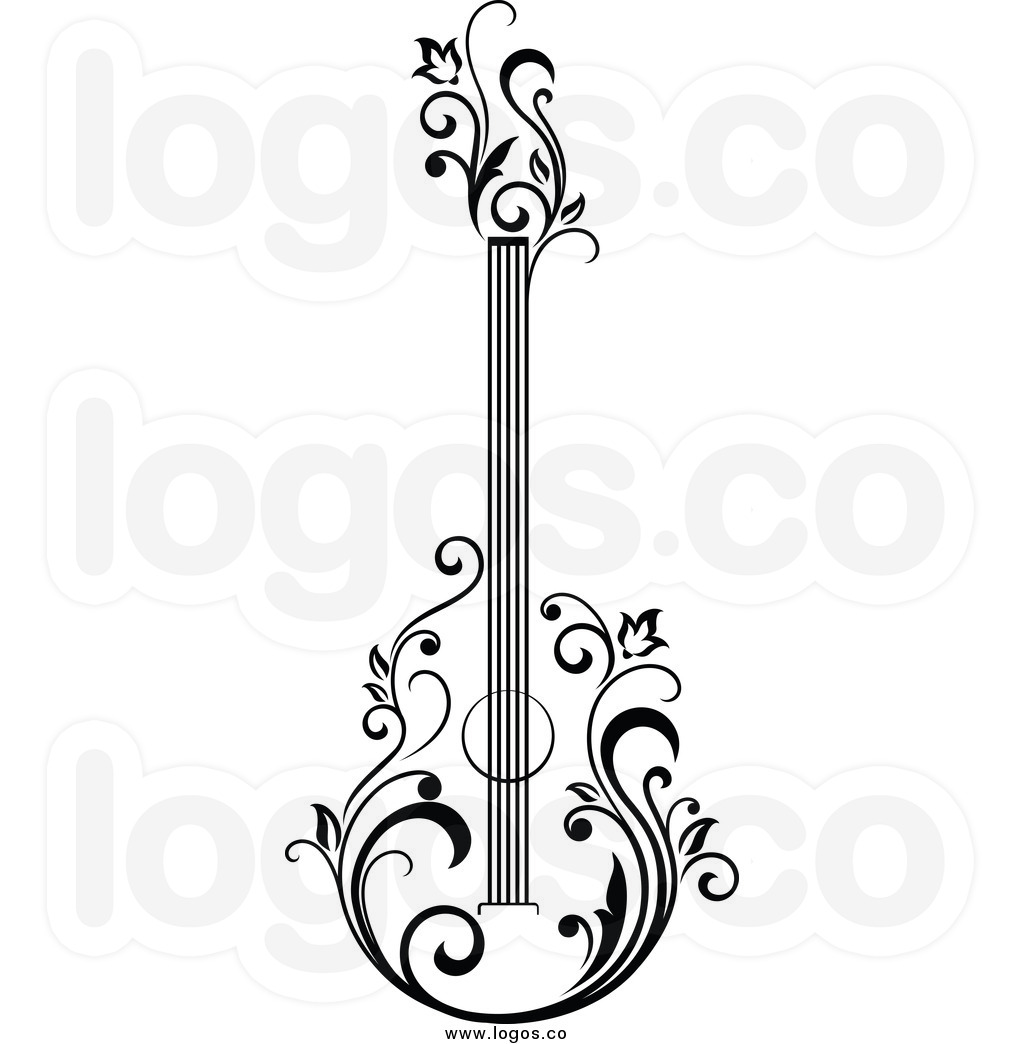1024x1044 Guitar Drawing Logo For Free Download