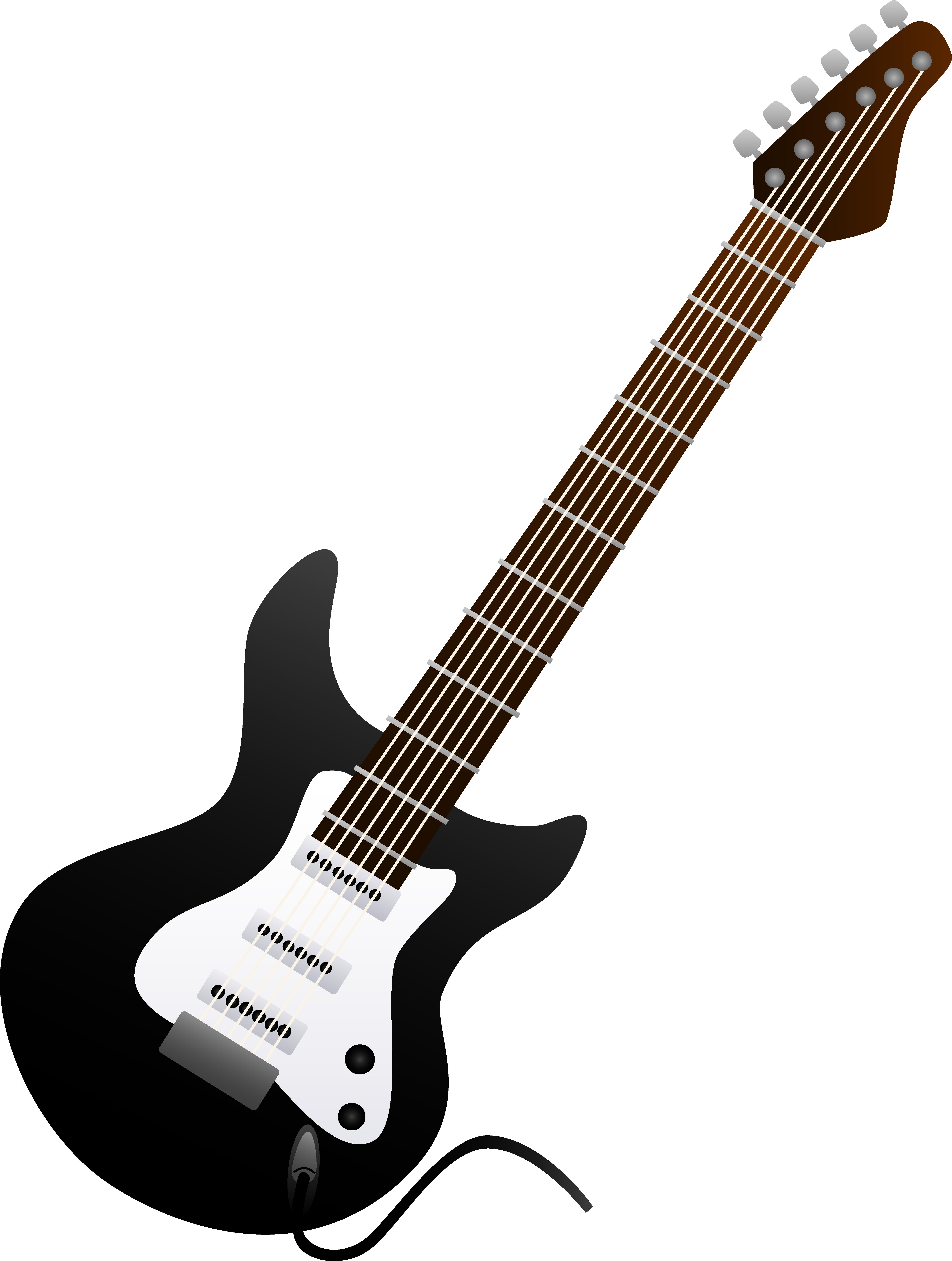 5971x7908 Acoustic Guitar Clipart Clip Art