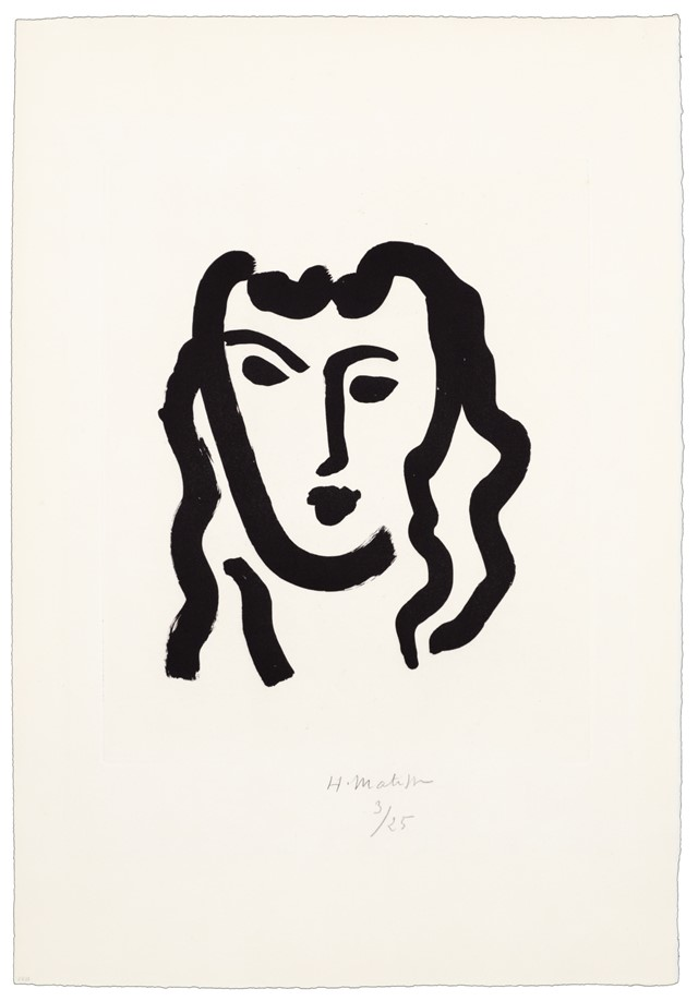 640x918 Henri Matisse's Evocative Prints Of The Female Form Another