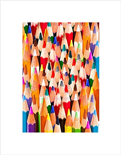 425x543 Colorful Pencils Abstract Artist Colour Drawing Art