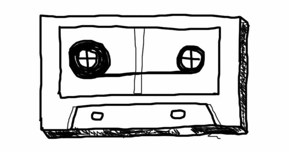 920x486 Cassette, Doodle, Scrawl, Paint, Drawing, Band