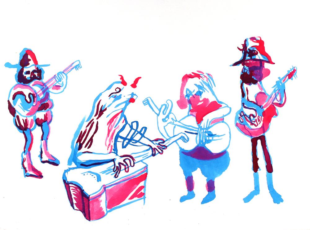 1000x741 Ink Drawings Mike Studio