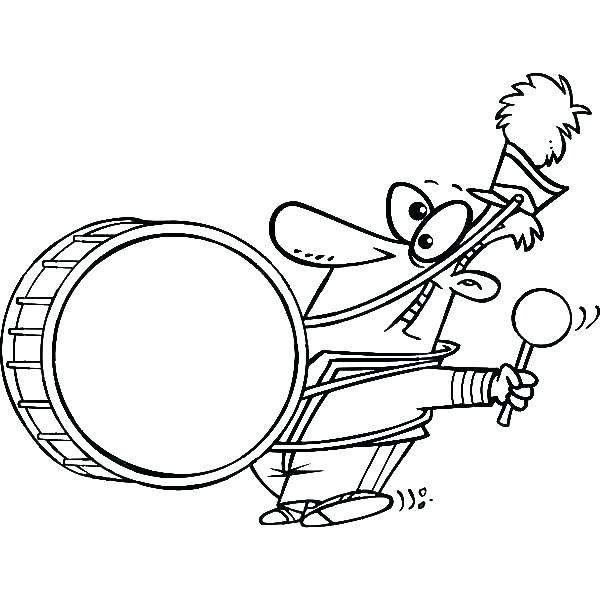 600x612 marching band coloring pages marching band drawing