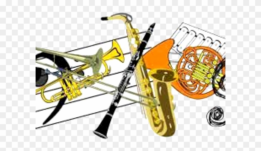 880x511 Band Clipart Instrumental