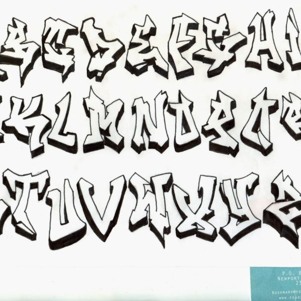 Drawing Block Letters | Free download best Drawing Block