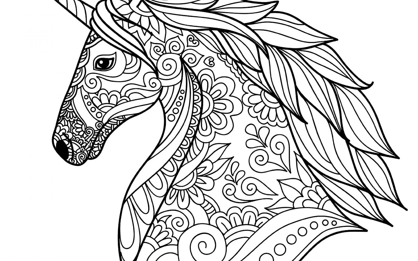 1440x900 Stirringcorn For Coloring Book App Download Pdf Clipart Pic Images