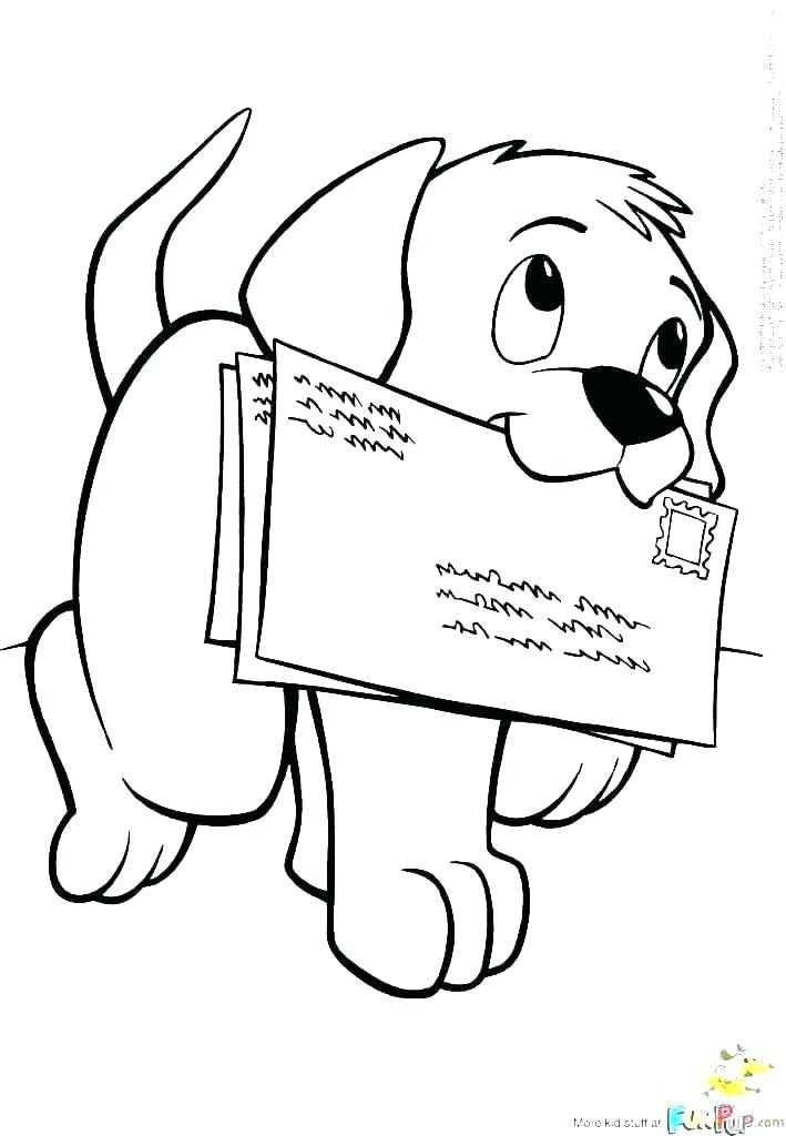 709x1024 Puppy Coloring Games