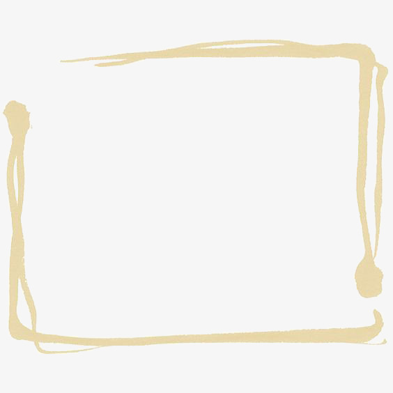 564x564 golden drawing border, simple border, creative borders, ink border