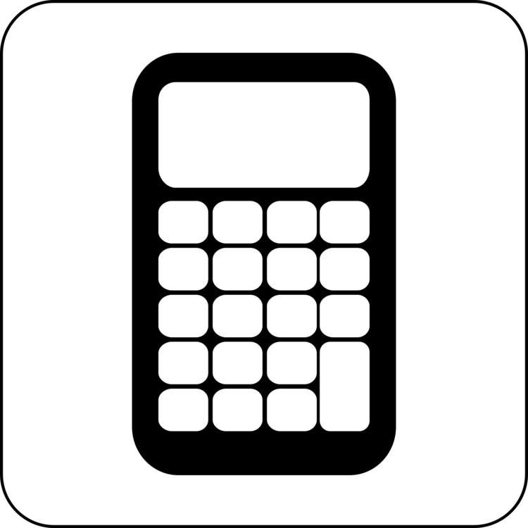 750x750 Scientific Calculator Computer Icons Drawing Cc0