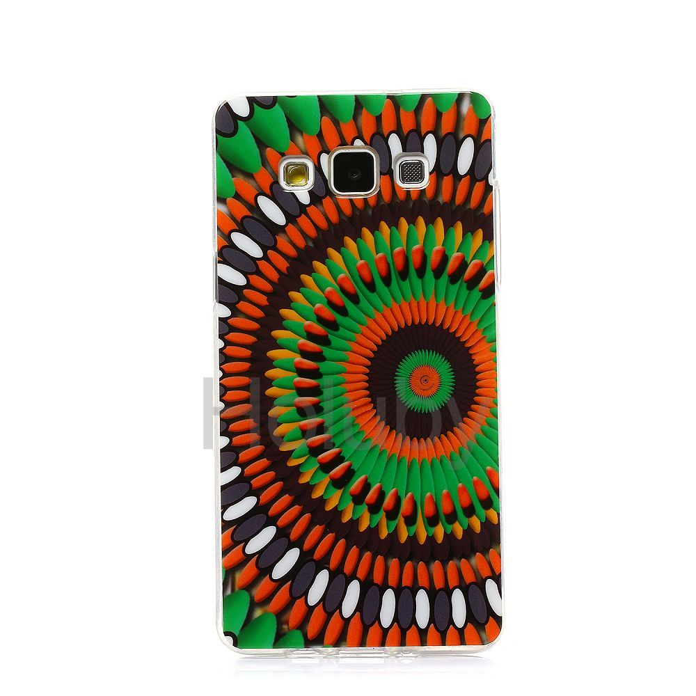 1000x1000 Colored Drawing Soft Tpu Back Case For Samsung Galaxy