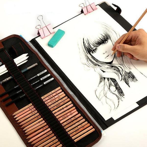600x600 Complete Drawing Illustration Set