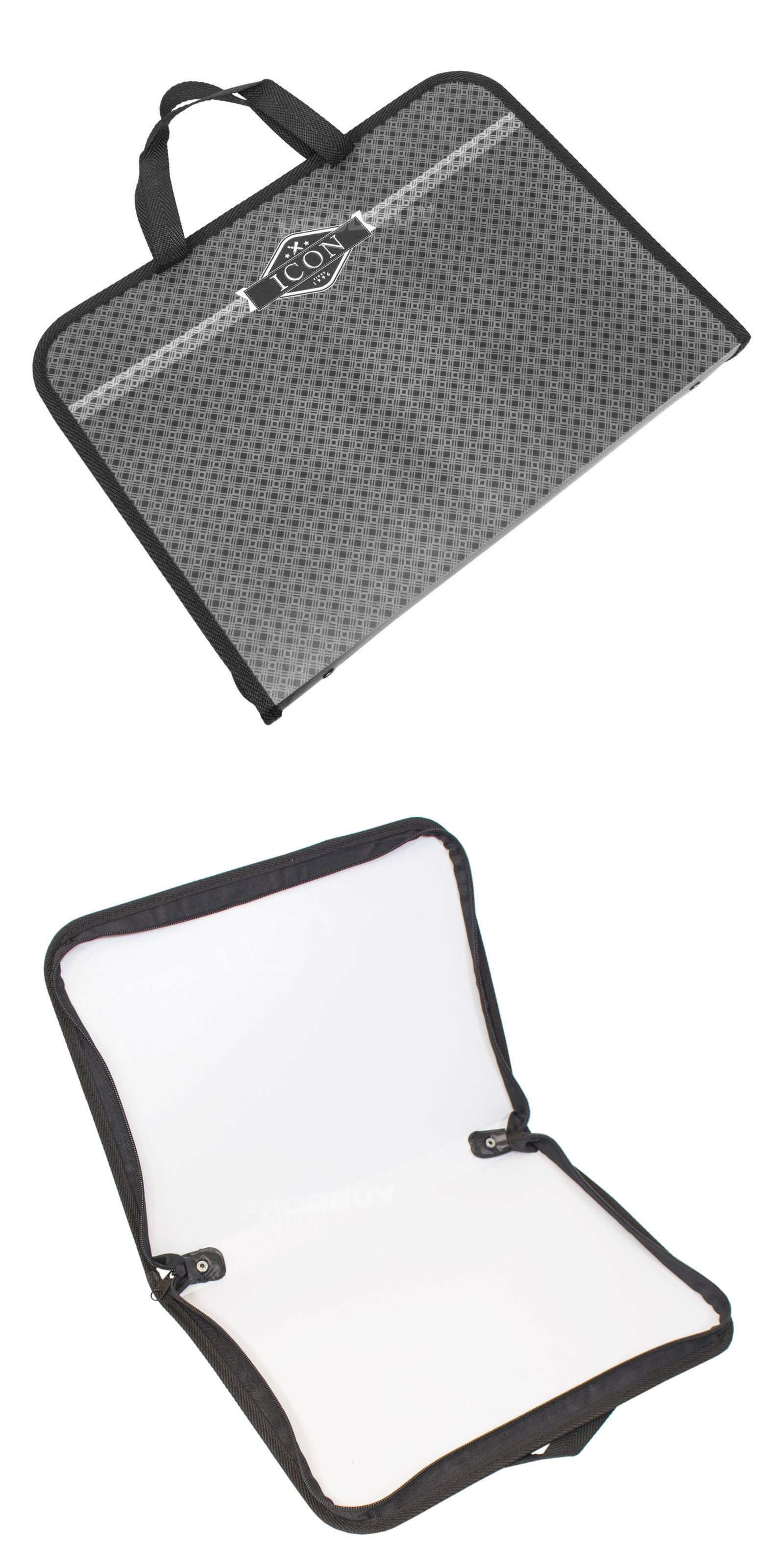 1600x3200 Drawing Supplies Storage Icon Black Handled Carry Case