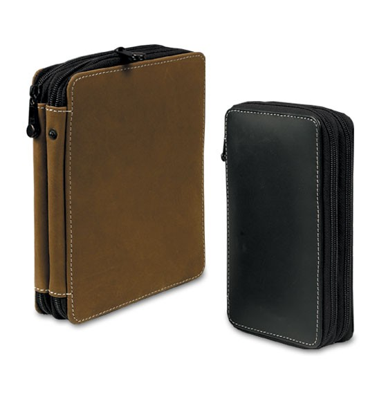 545x600 genuine leather colored pencil cases