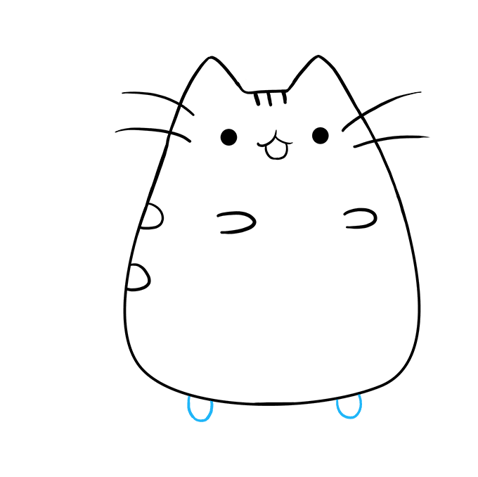 680x678 How To Draw Pusheen The Cat