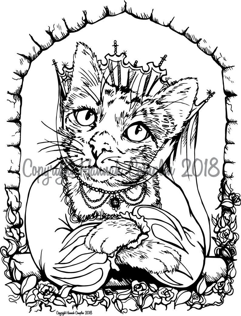 794x1040 Cat Coloring