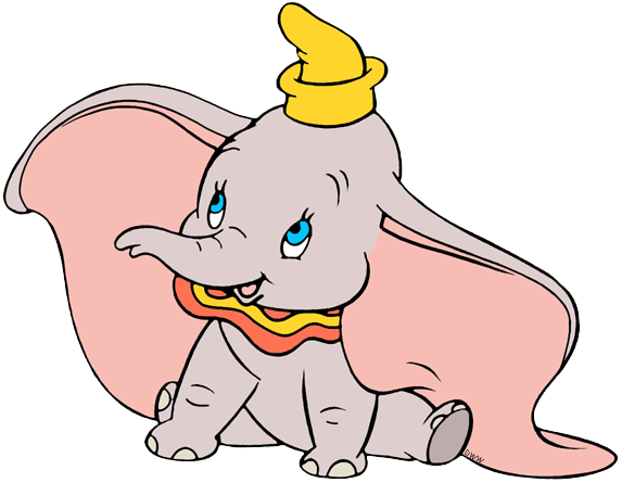 573x445 Collection Of Free Dumbo Drawing Circus Download On Ui Ex