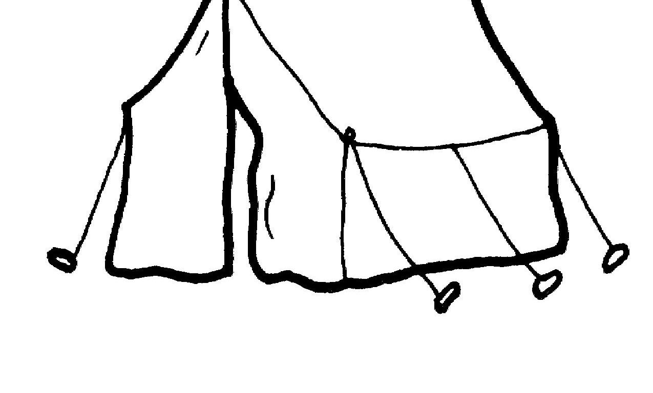 1275x768 Stunning Tent Drawing For Kids Coloring How To Draw Tents Fun