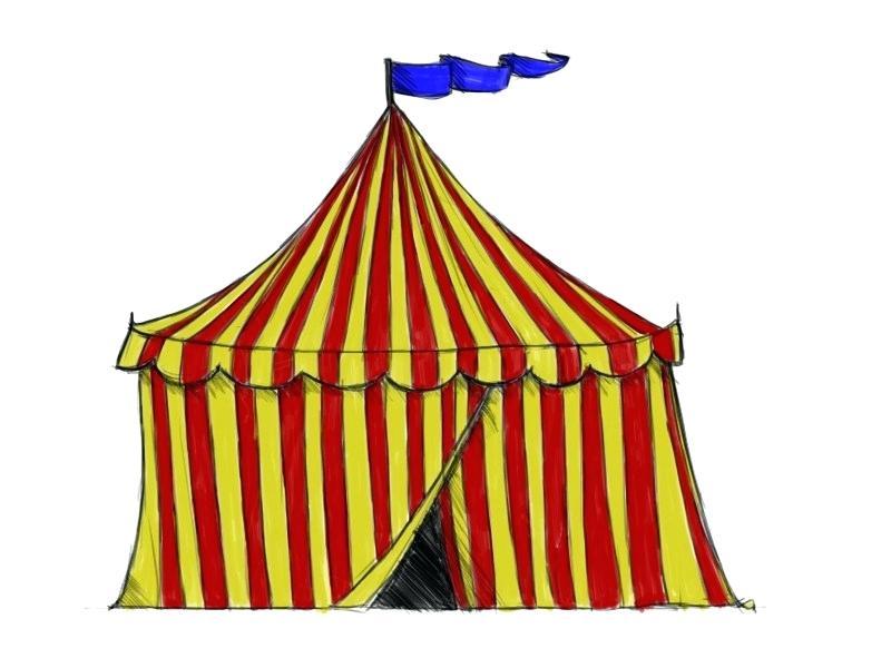 800x600 Circus Drawing Circus Drawings Richard Williams