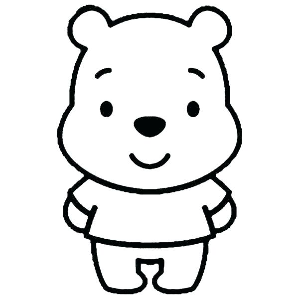 600x600 baby winnie the pooh drawing the pooh coloring pages fresh baby