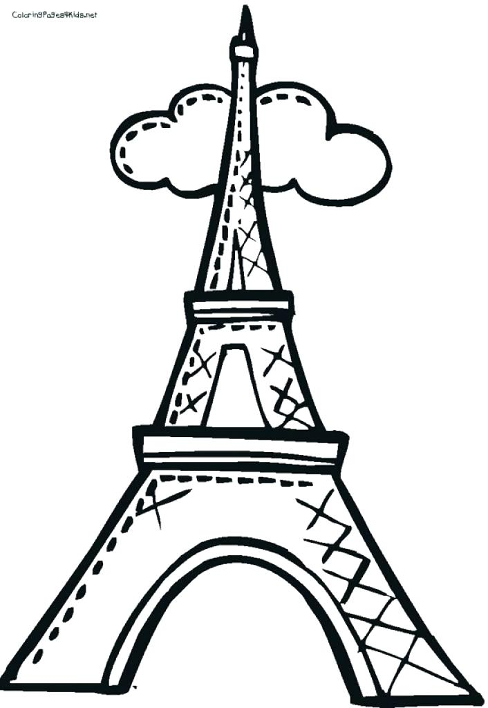 706x1024 Fancy Design Printable Eiffel Tower Coloring Pages