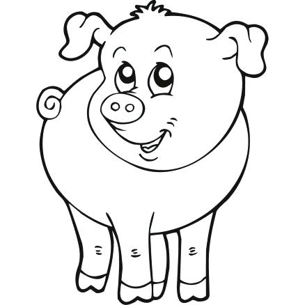 438x438 Medium Size Of Farm Animals Coloring Pages Printable Free Animal