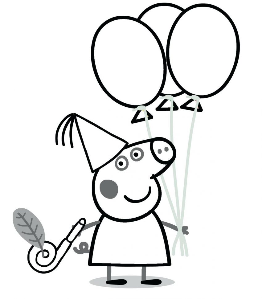 850x970 Peppa Pig Drawing Coloring Sheets Printable Pages Realistic Guinea