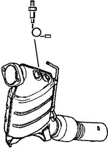 219x300 Catalytic Converter Fits Bmw Front